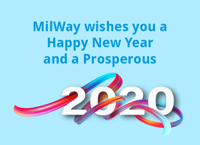 Milway wishes you a happy year and a prosperous 2020